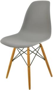 krzesło skandynawskie italian style szare