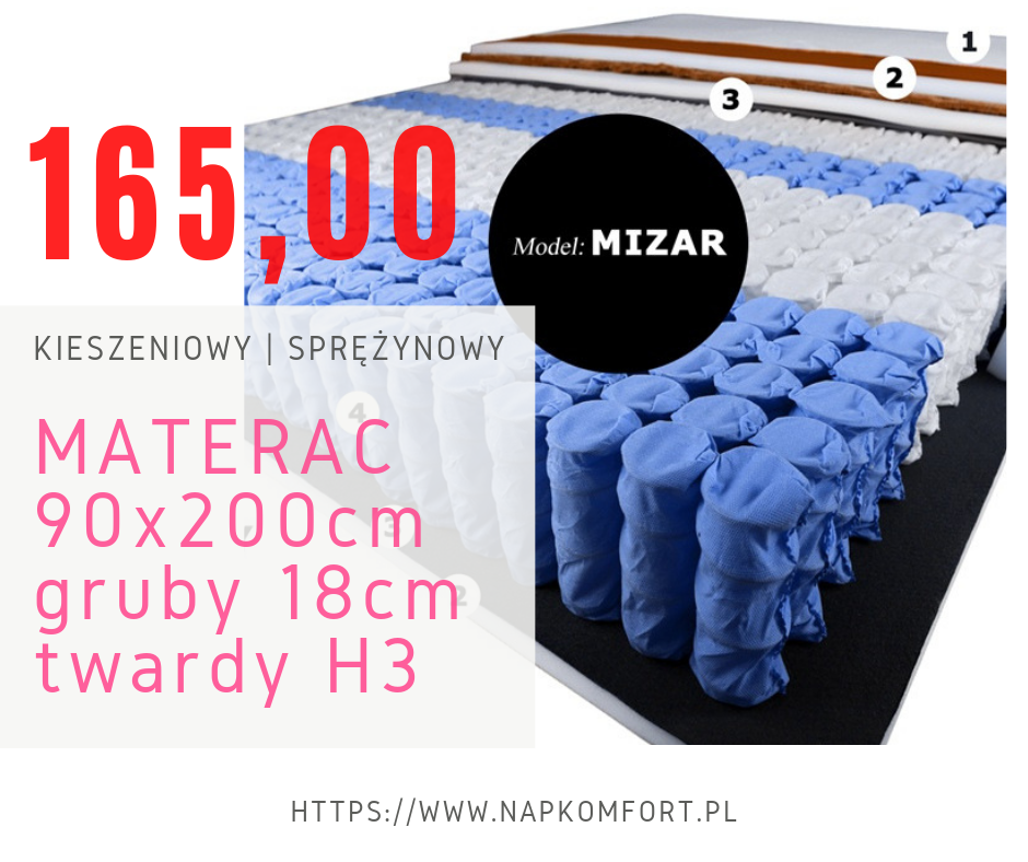 Materac Do łóżka 140200 Nap Producent Materacy