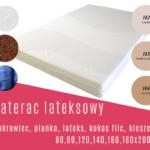 Materac AGENA lateksowy