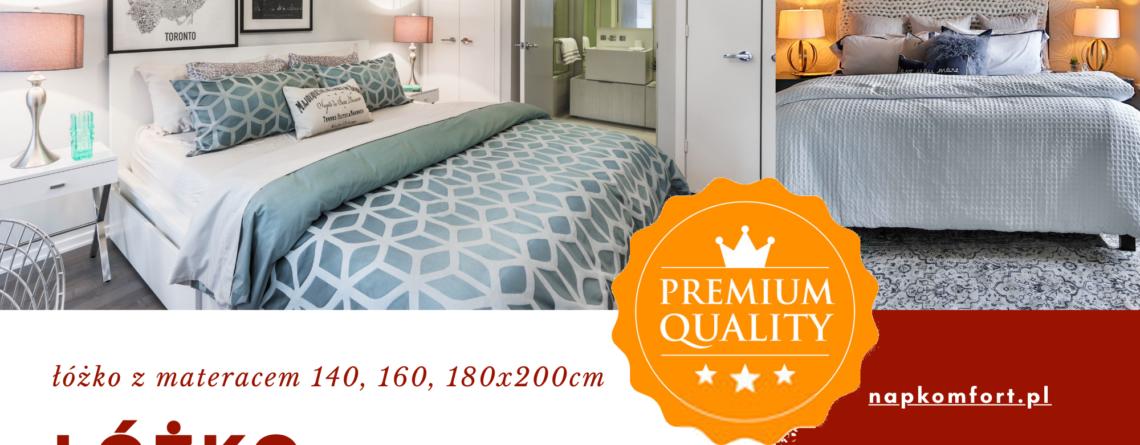 Łóżko z materacem 160x200