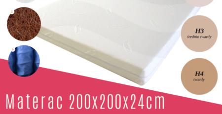 materac 200x200
