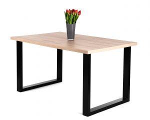 Rozkładany stół loftowy ADAM jesion